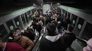 Metro de Sevilla en Semana Santa