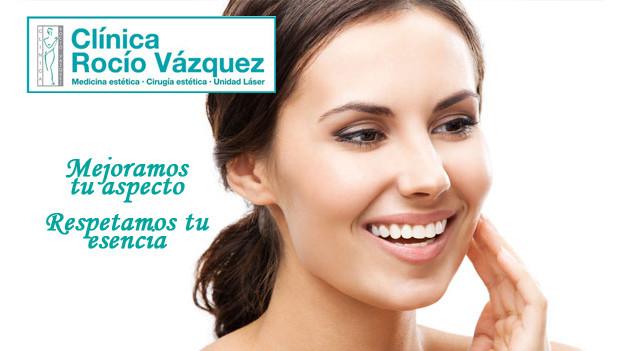 Rejuvenecimiento facial en Clínica Rocío Vázquez en Sevilla
