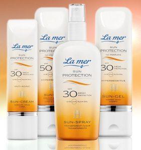 crema protección solar cara y cuerpo