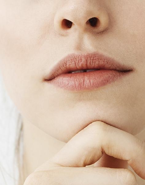Perfil y aumento de labios