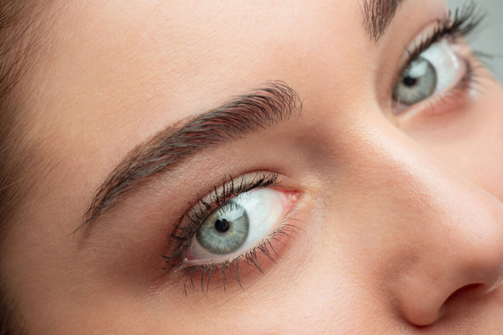 Chica de ojos bonitos